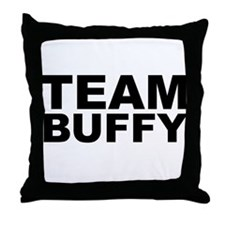Team Buffy Throw Pillow