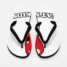 Eat Me Kids Flip Flops