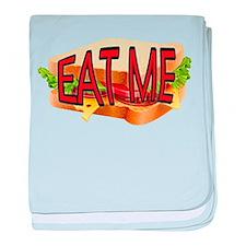Eat Me baby blanket