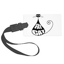 Fat Cat Luggage Tag