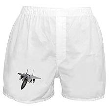 Fighter Jet Boxer Shorts