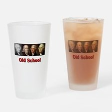 Old School Drinking Glass