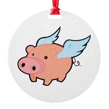 Flying Pig Ornament