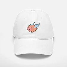 Flying Pig Baseball Baseball Cap