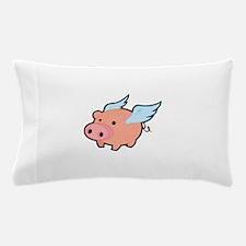 Flying Pig Pillow Case