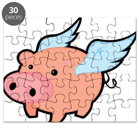 Flying Pig Puzzle