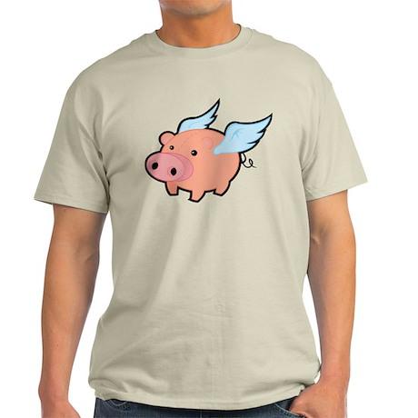 Flying Pig Light T-Shirt