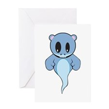 Ghost Bear Greeting Card