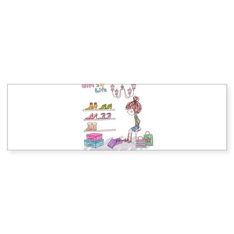 Girly Sticker (Bumper)