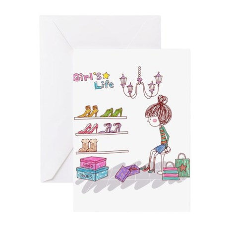 Girly Greeting Cards (Pk of 20)