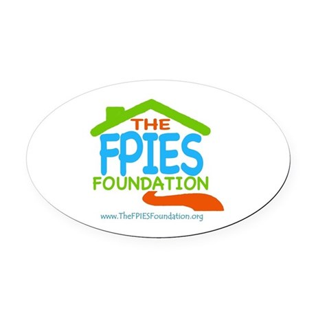 The FPIES Foundation Oval Car Magnet