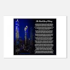 Cute 9 11 Postcards (Package of 8)