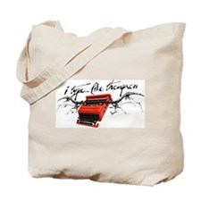 I TYPE LIKE THOMPSON Tote Bag