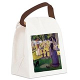 Sunday in the park with george Canvas Lunch Bag