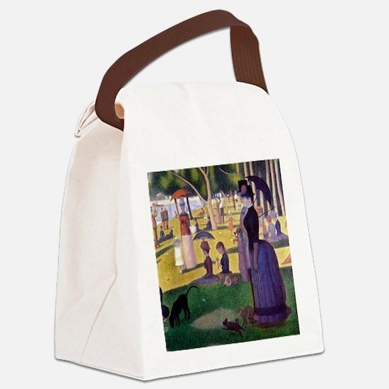 Vintage Canvas Lunch Bag