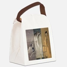 Kawanabe Kyosai 3 Ghosts Canvas Lunch Bag