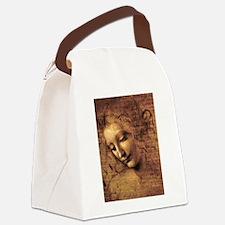 Unique Da vinci Canvas Lunch Bag