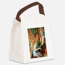 Renoir Girls At The Piano Canvas Lunch Bag
