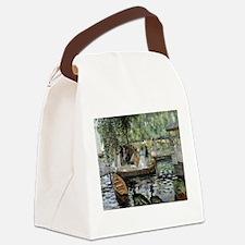 Funny Renoir Canvas Lunch Bag
