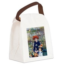 Funny Portraits women Canvas Lunch Bag