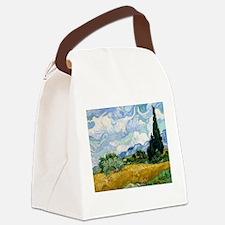 Cute Van gogh Canvas Lunch Bag
