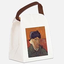 Van Gogh Self Portrait Canvas Lunch Bag
