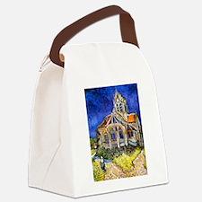 Van Gogh Church At Auvers Canvas Lunch Bag