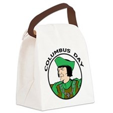 Columbus Day Canvas Lunch Bag