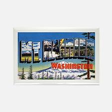 Mt Rainier Washington Rectangle Magnet