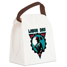 Labor Day Canvas Lunch Bag