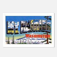 Mt Rainier Washington Postcards (Package of 8)