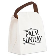 Vintage Palm Sunday Canvas Lunch Bag