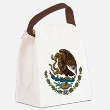 Mexican Coat of Arms Canvas Lunch Bag