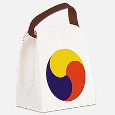 Sam Taegeuk Canvas Lunch Bag