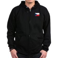Czech Flag Zip Hoody