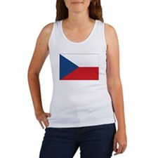 Czech Flag Women's Tank Top