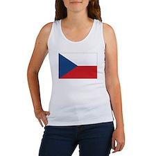Czech Flag Women's Tank Top