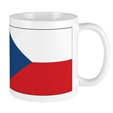 Czech Flag Small Mug