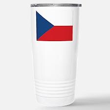 Czech Flag Travel Mug