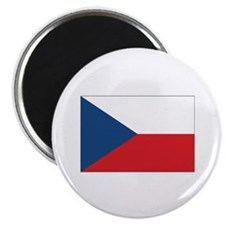 """Czech Flag 2.25"""" Magnet (10 pack)"""