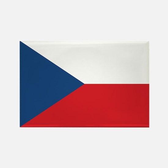 Czech Flag Rectangle Magnet