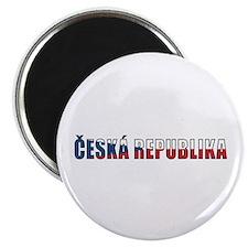 """Czech Republic 2.25"""" Magnet (10 pack)"""