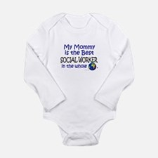 Best Social Worker In The World (Mommy) Baby Suit