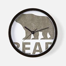 Vintage Bear Wall Clock