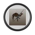 Classic Camel Large Wall Clock