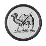 Camel Crest Large Wall Clock
