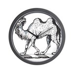 Camel Crest Wall Clock