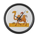Funny Camel Large Wall Clock