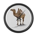 Hand Drawn Camel Large Wall Clock