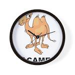 I Love Camels Wall Clock